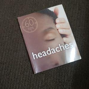 ⭐2/$15⭐ 60 Tips: Headaches Book by Marie Borrel